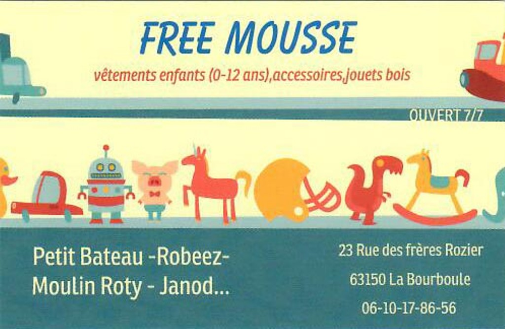 Free Mousse - La Bourboule