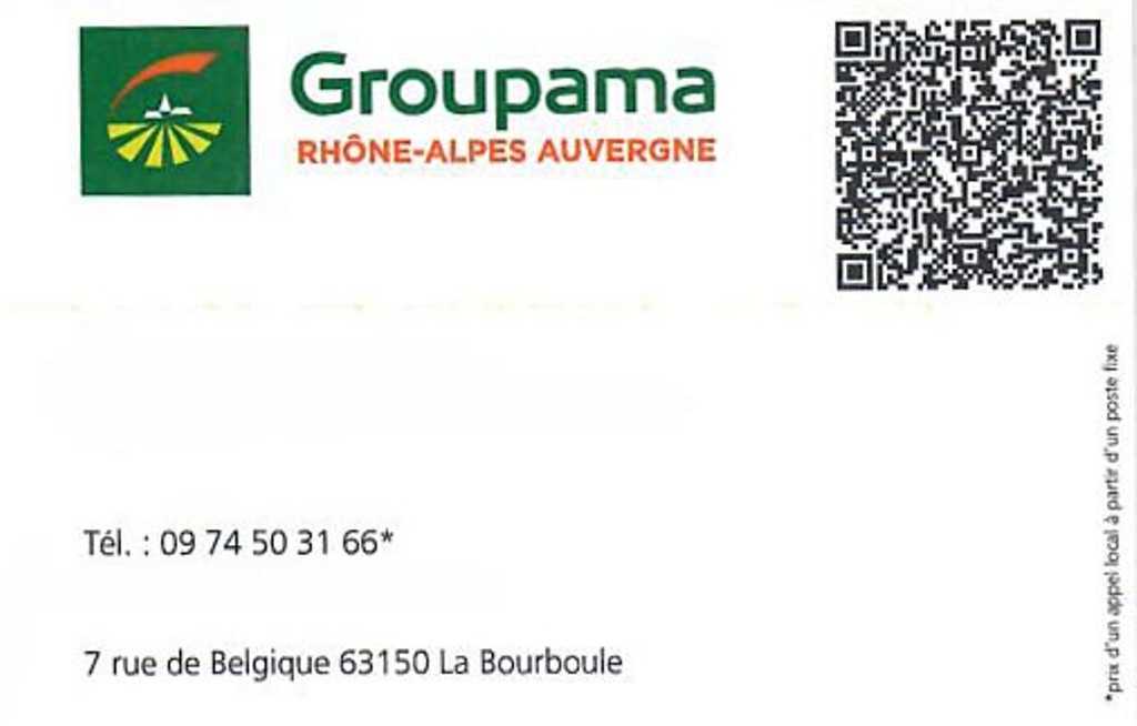 Groupama - La Bourboule