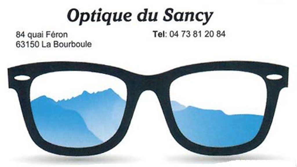 Optique Sancy - La Bourboule